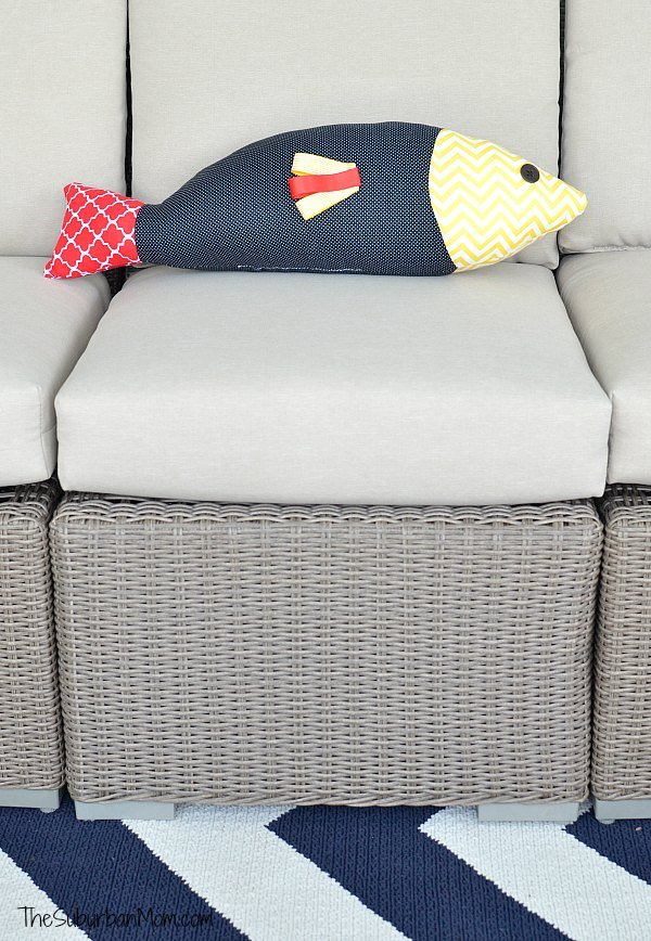 Fish Pillow Decoration
