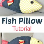 Fish Pillow Tutorial