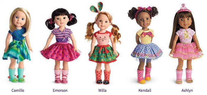 Wellie Wishers Dolls