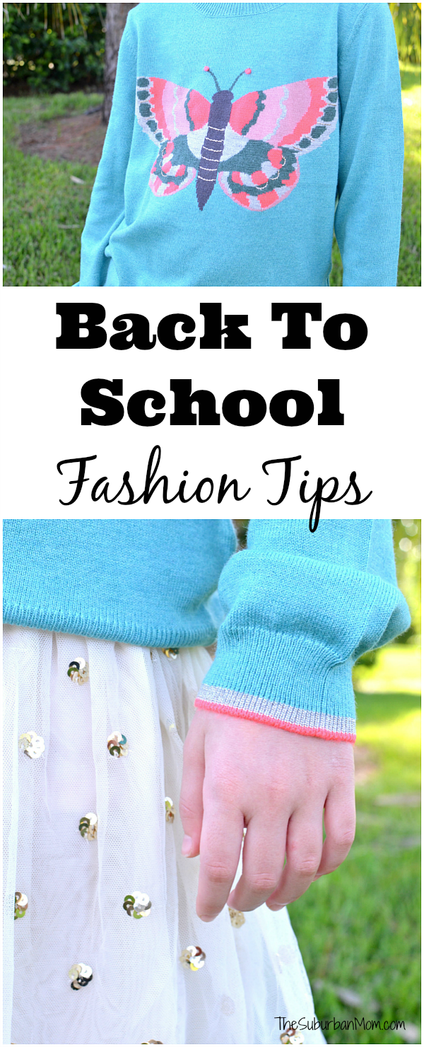 Back To School Fashion Tips