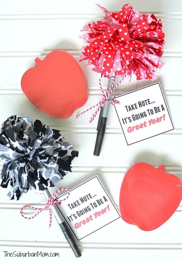 Back To School Printable Teacher Gift Tag