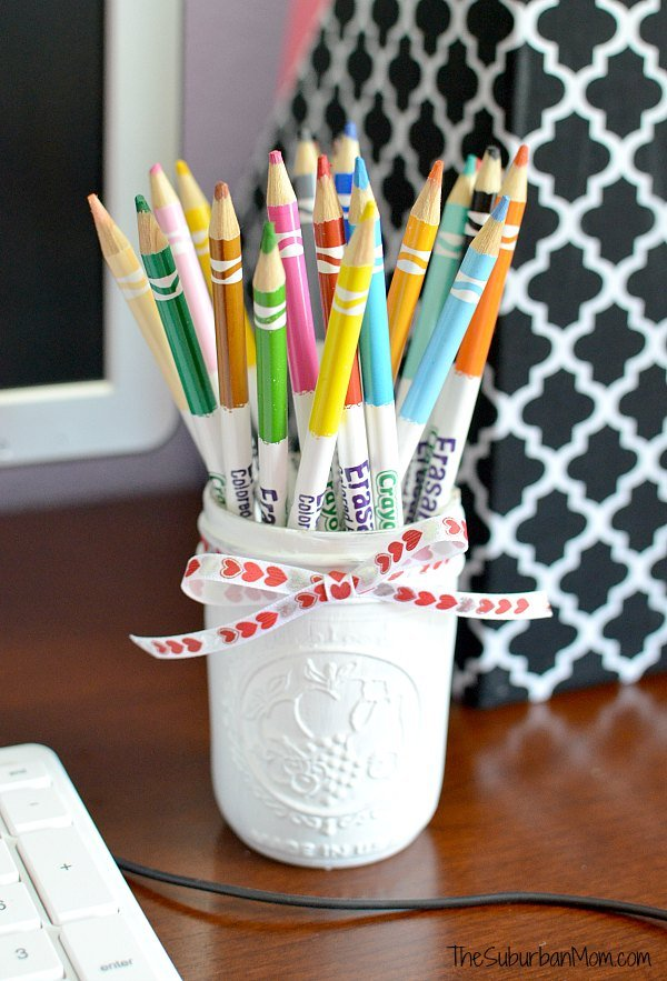 Diy kids desk accessories back to school Diy pencil holder for desk