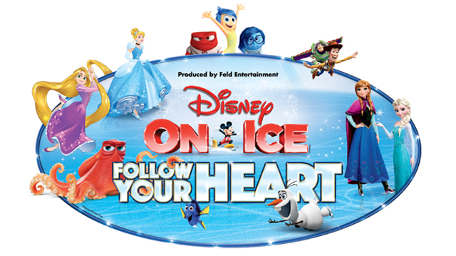 Disney on Ice Presents Follow Your Heart Logo