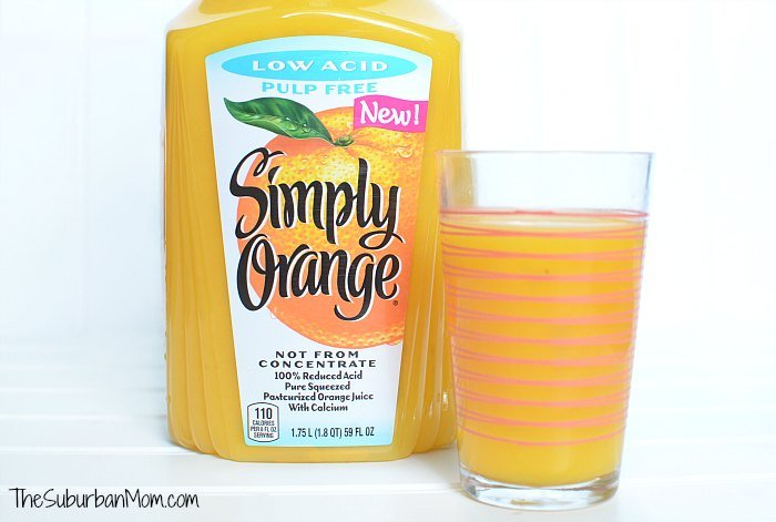 Simply Orange Low Acid OJ