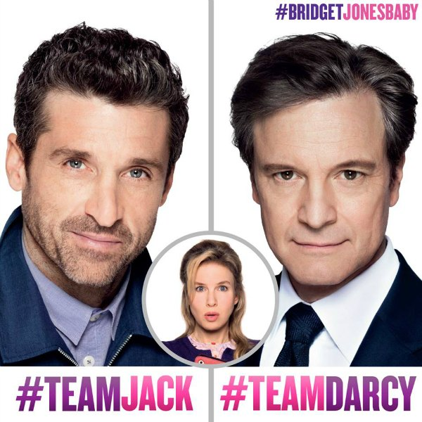 Bridget Jones - Team Jack Team Darcy