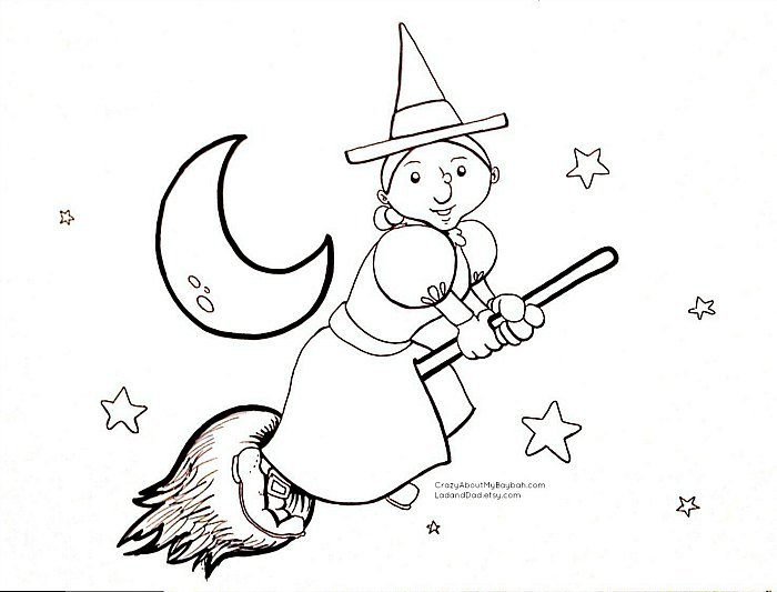 halloween coloring sheets for kids - Coloring Pages Kids Halloween