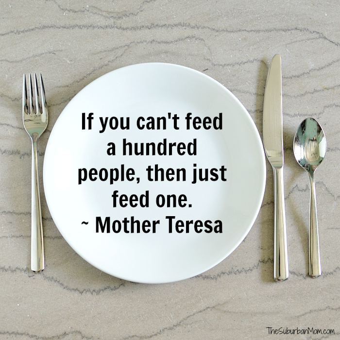 Hunger Quote Mother Teresa