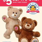 Celebrate National Teddy Bear Day With $5 Build A Bear Workshop