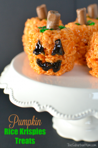 Rice Krispies Treat Pumpkin