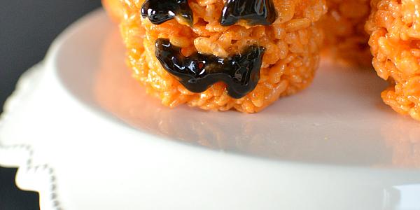 Rice Krispies Treat Pumpkin
