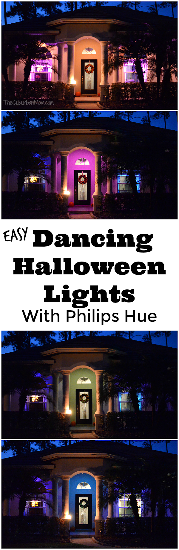 Dancing Halloween Lights