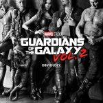 Gaurdians of the Galaxy Vol 2 Movie Poster