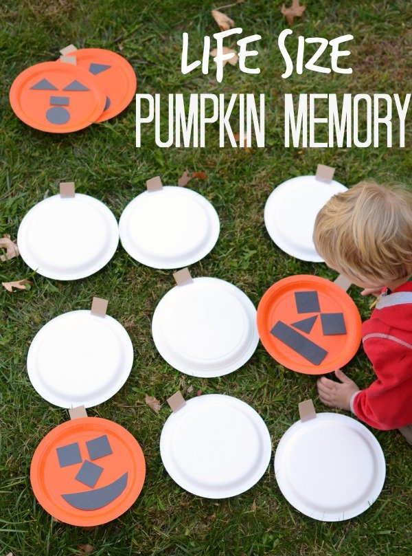 Life Size Pumpkin Memory Game