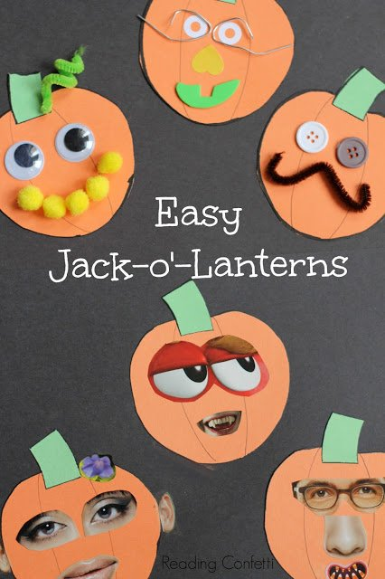 Magazine Jack O Lantern Craft