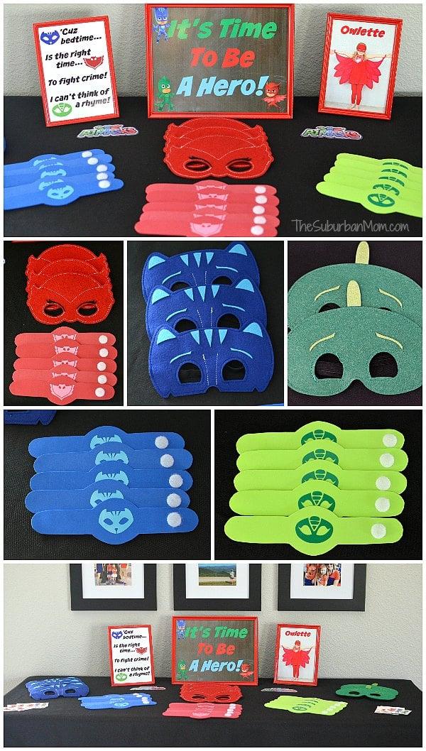 PJ Masks Party Favors