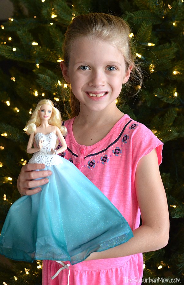 2016 Holiday Barbie Gift
