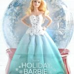 2016 Holiday Barbie In Box