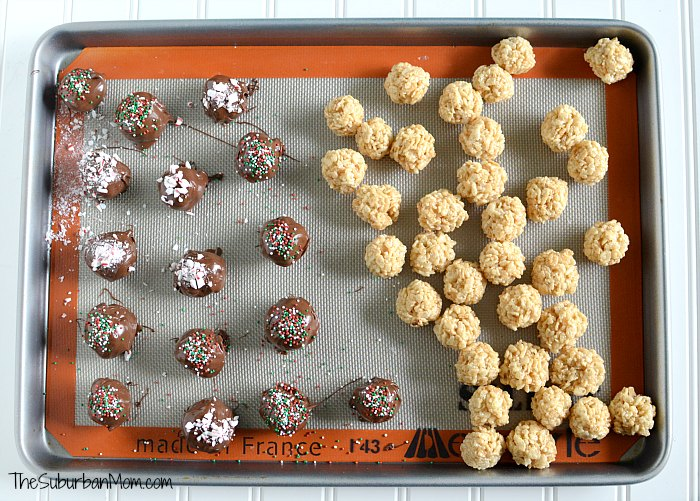 Chocolate Rice Krispies Treats Truffles