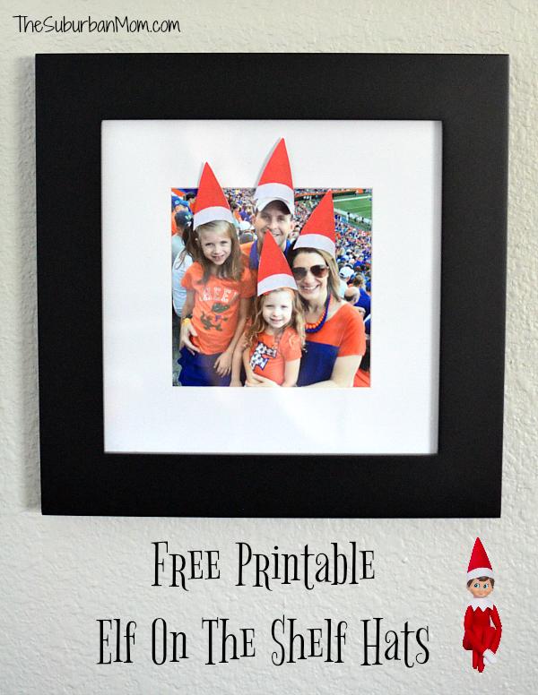 Printable Elf on the Shelf Hats