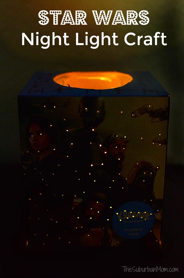 Star Wars Night Light Craft