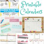 17 Free Printable 2017 Calendars