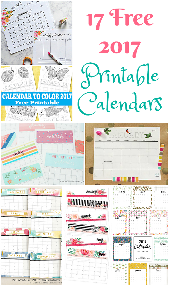 17 free printable 2017 calendars the suburban mom free 2017 printable calendars solutioingenieria Choice Image