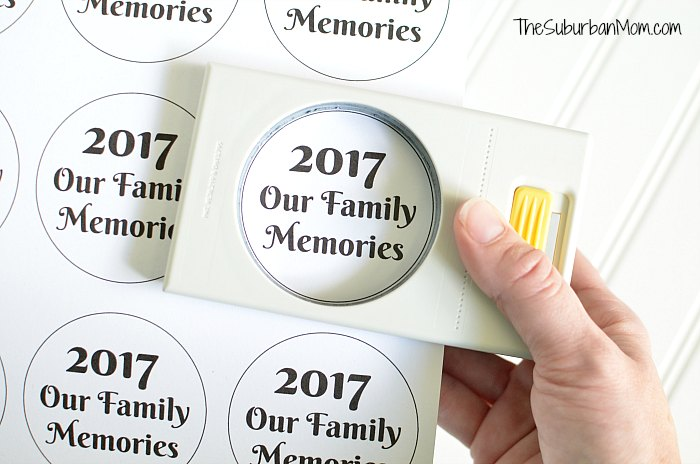 2017 Family Memories Printable