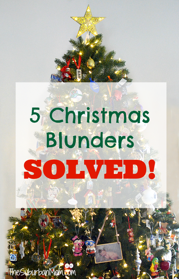 Christmas Blunders Solved