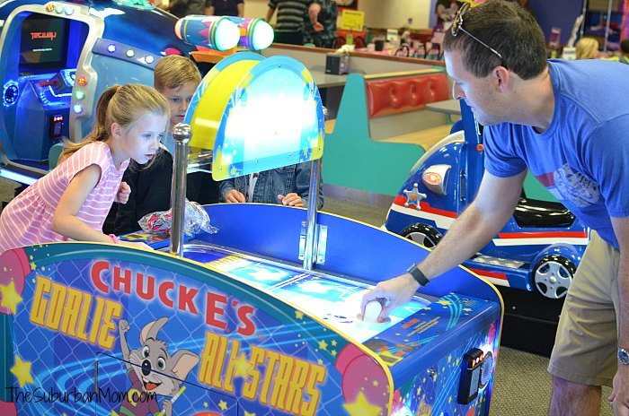 Chuck E Cheese's Games