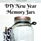 New Year Memory Jar Printable