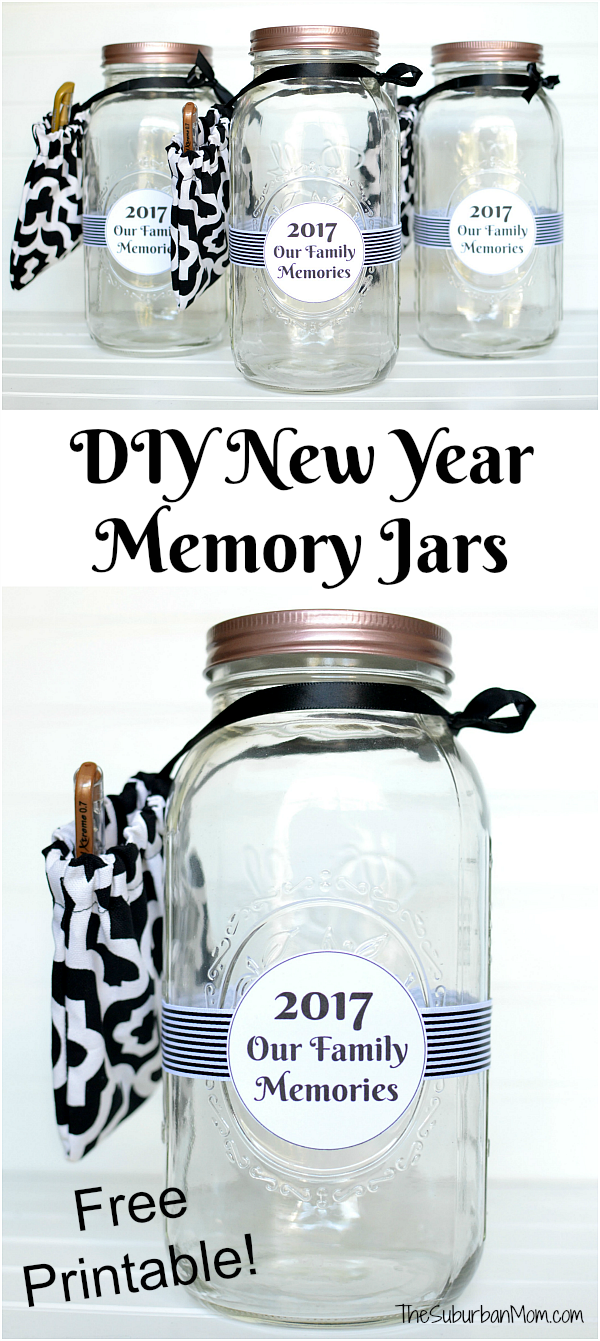 New year memory jar printable the suburban mom - Best new year gift ideas ...