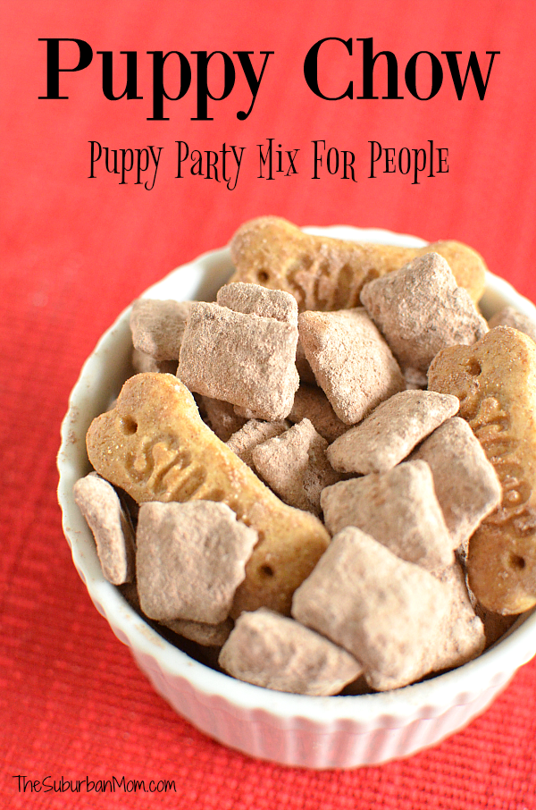 Puppy Chow Chex Mix Recipe