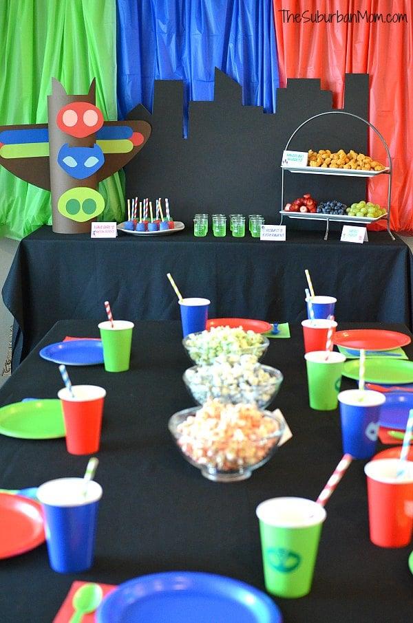 PJ Masks Birthday Party Ideas