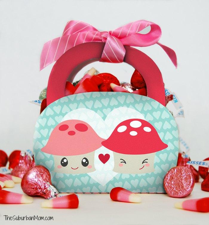 Printable Valentine's Day Treat Bag