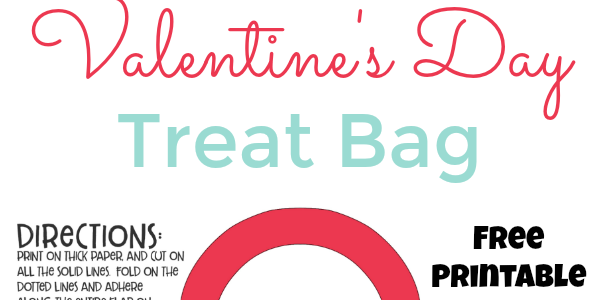 Valentine's Day Treat Bag Printable