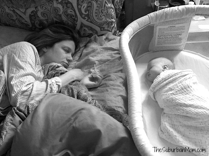 Mom Baby Sleeping