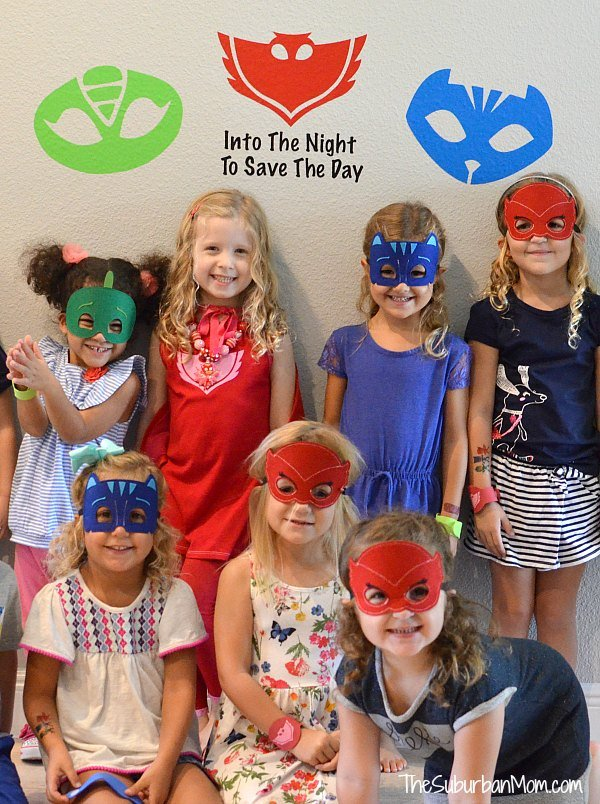 PJ Masks Birthday Party