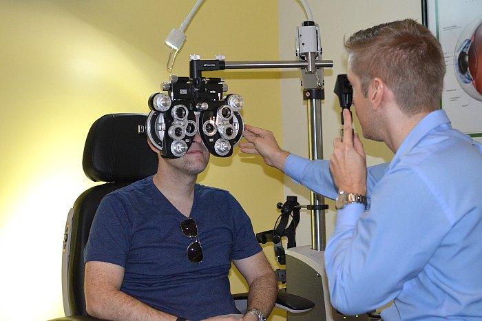 Pearle Vision Eye Exam