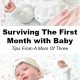 Surviving The First Month With Baby: Tips From A Mom Of Three