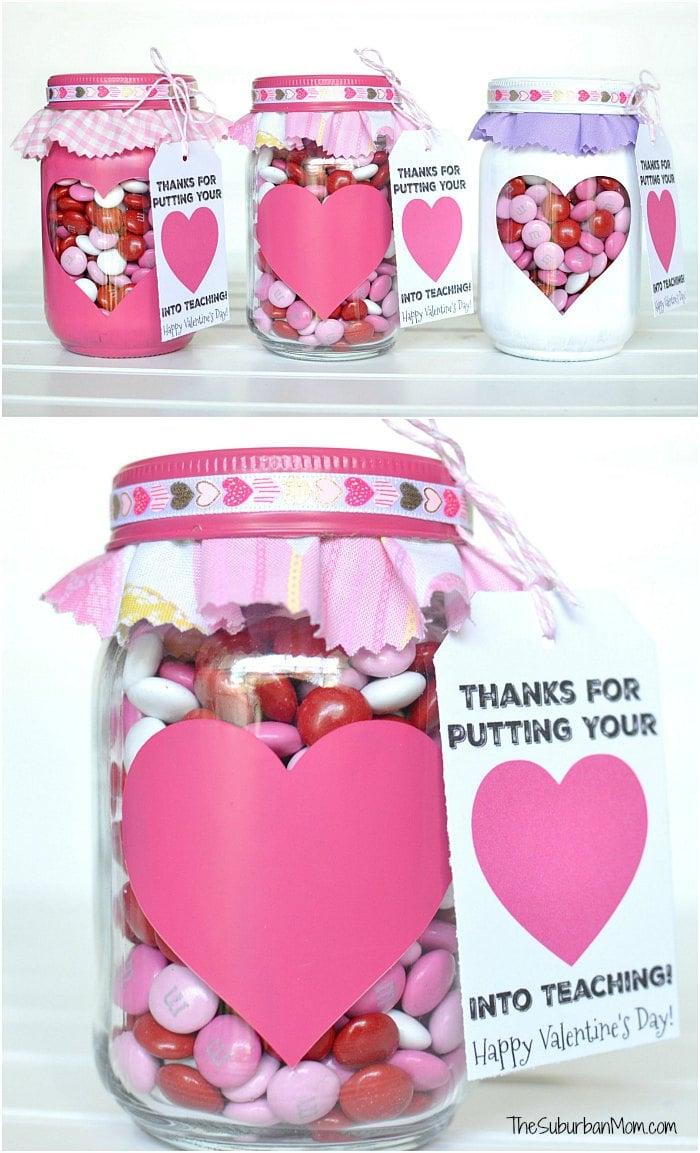 Valentine's Day Teacher Gift Tag