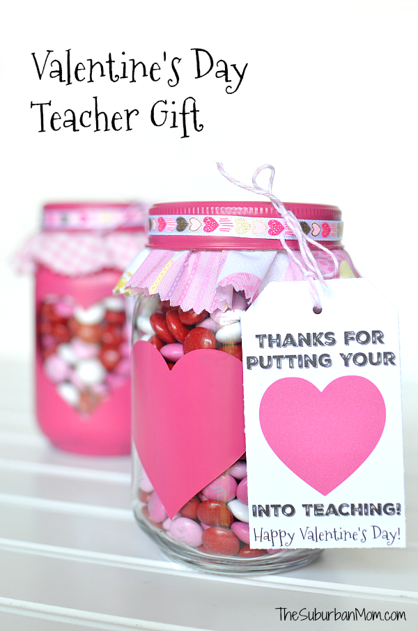 Valentines Day Gift For Teachers And Printable Gift Tag
