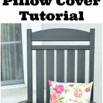 DIY Envelope Pillow Cover Tutorial