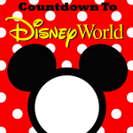 Walt Disney World Countdown Printable