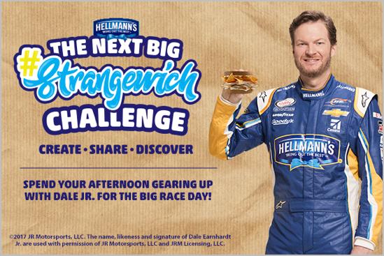 Hellman's Strangewich Challenge