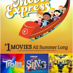 2017 Regal Summer Movie Express $1 Movies