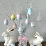 How To Make An Easter Egg Tree Decoration