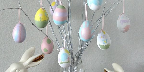 DIY Easter Egg Tree Decoration