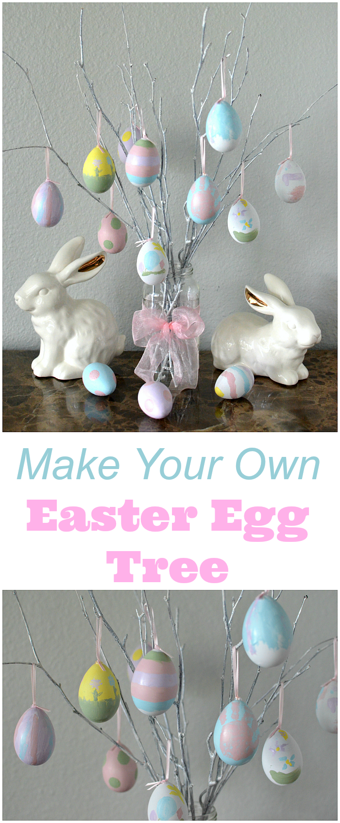 Make Easter Egg Tree Craft