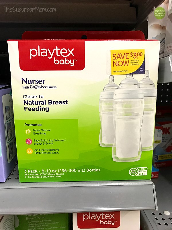 Playtex Nurser Bottles