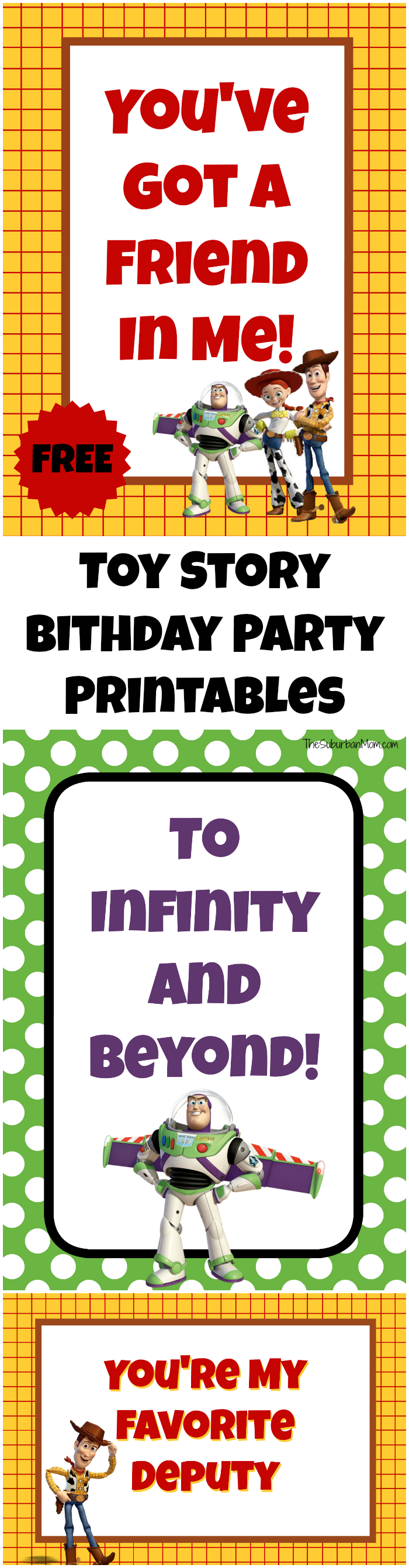 free toy story party printables the suburban mom. Black Bedroom Furniture Sets. Home Design Ideas